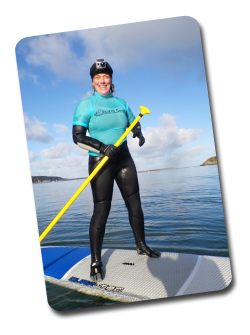 Cleopatra Browne. Stand up Paddle Boarding in North Pembrokeshire Wales - Board Games Surfing