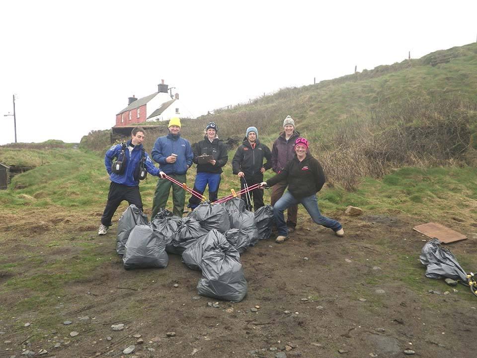 Abereiddy & Traeth Llyfn Beach Clean