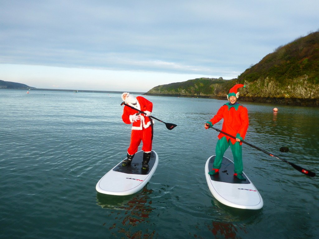 Paddle Boarding or Surfing in Pembrokeshire