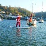 Father Christmas SUP Wales