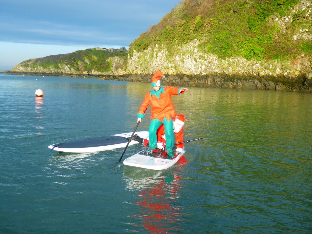 All paddle boarding equipment supplied inc board, paddle, wetsuit, boots and gloves