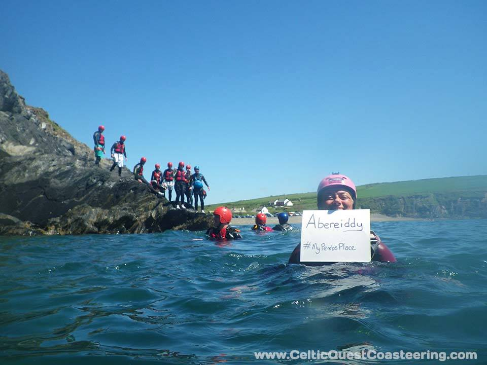 Celtic Quest Coasteering – #MyPembsPlace – Abereiddy