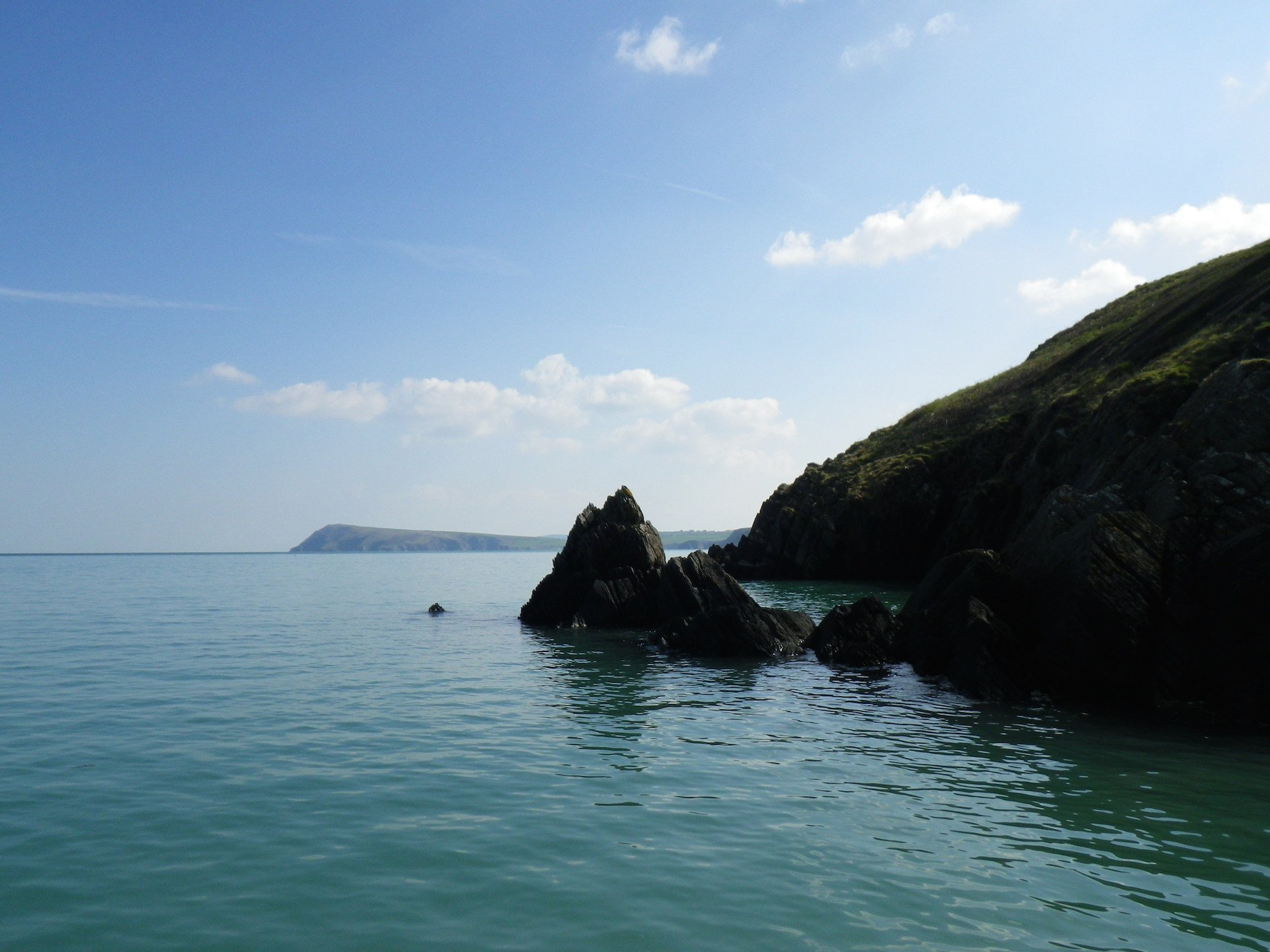Stunning views while Paddleboarding in Pembrokeshire