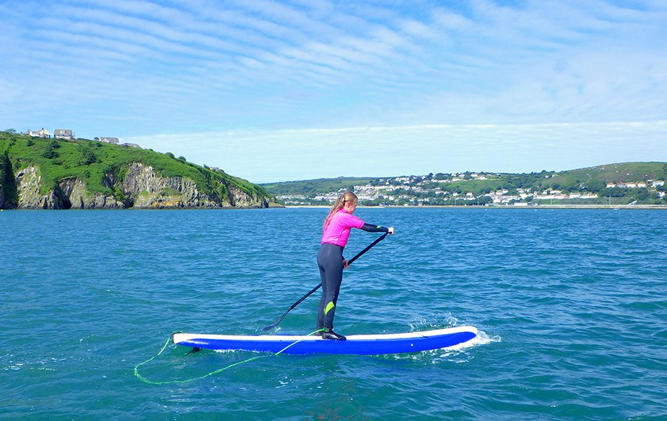 Paddleboarding tours in Wales
