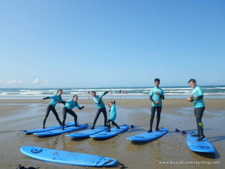 Surfing Lessons in Pembrokeshire