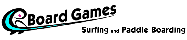 Board Games Surfing Logo