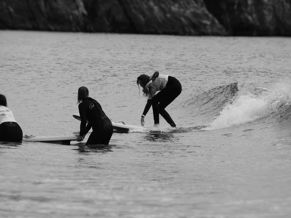 surfing a cracking wave - Splash Out 2016