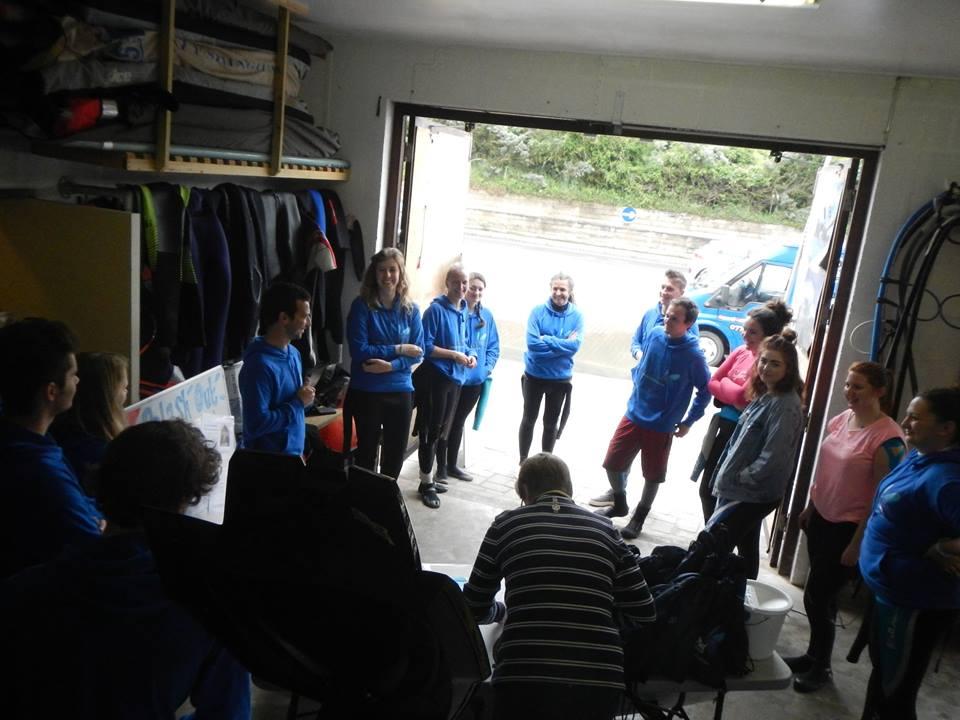 volunteer meeting - Splash Out 2016