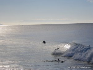 Surfing at Boilers, Morocco Adventures