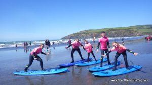 Surf pose!