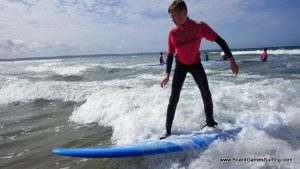 Surfing dude